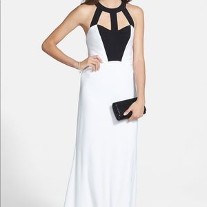 Nordstrom Dress, Size 3/4, Black and White